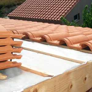 Roof-impermeable-transpirable